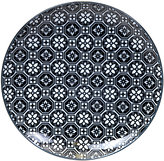 Design Studio Tokyo Nippon Black Dinner Plate - Flower