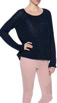 BB Dakota Navy Crew Neck Sweater