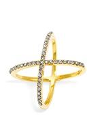 BaubleBar Crystal Mason Ring