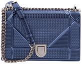 Christian Dior Diorama patent leather crossbody bag