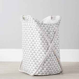 Pottery Barn Teen Butterfly Hamper, Mod Triangles
