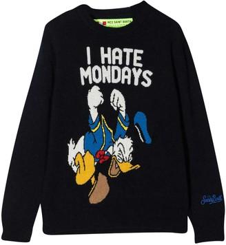 MC2 Saint Barth Black Sweater
