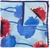 Ungaro floral print scarf - women - Silk/Modal - One Size