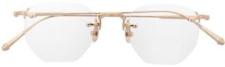 Matsuda M3104 hexagonal-frame glasses
