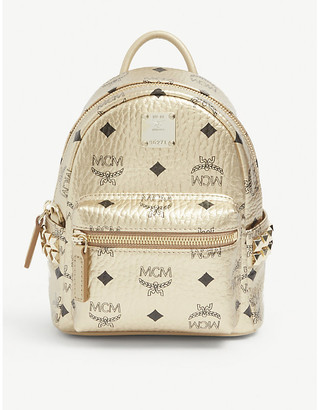 MCM Stark leather mini backpack