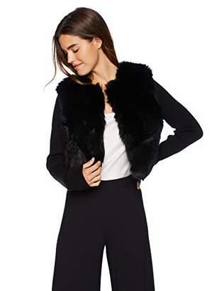 Ramy Brook Women's ABEL Faux Fur Sweater Jacket