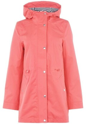 Joules Water Proof Coat Womens