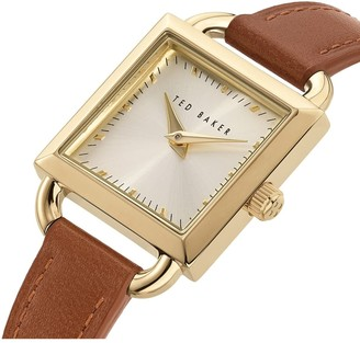 Ted Baker Women's Taliah Leather Strap Watch, 24mm