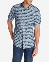 Eddie Bauer Men's Grifton Short-Sleeve Shirt - Print