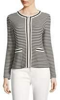 Max Mara Stripe Cotton Jacket