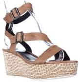 Elie Tahari Mustique Strappy Platform Sandals, Crema.