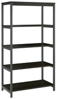Design Studio A Jaxson 5-Shelf Bookcase, Rustic Medium Oak