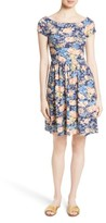 Rebecca Taylor Women's Floral Fit & Flare Dress