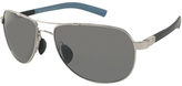 Maui Jim Silver & Gray Guardrails Polarized Aviator Sunglasses - Unisex