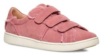 UGG Alix Suede Wool Faux Fur Sneakers