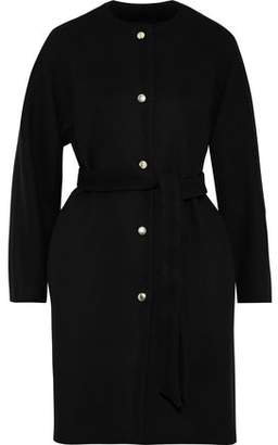 MACKINTOSH Belted Wool And Cashmere-blend Felt Coat