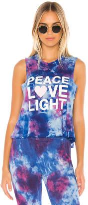 Spiritual Gangster Peace Fun Dye Crop Tank