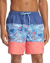 Vineyard Vines Coral Tuna Swim Trunks