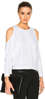 Veronica Beard Knight Cold Shoulder Top