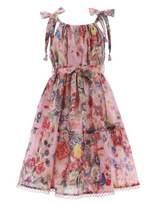 Zimmermann Lovelorn Floral Tie Dress