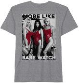 Hybrid Men's Baywatch Babe Watch Cotton T-Shirt