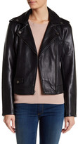 Lucky Brand Faux Leather Moto Jacket