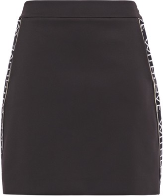 Maje Just Stretch-jersey Mini Skirt