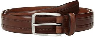 Trafalgar Allister Belt 32mm (Cognac) Men's Belts