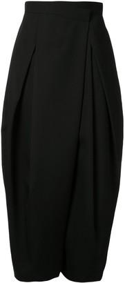 Enfold Asymmetric Wide Leg Trousers