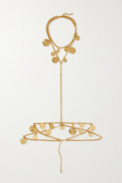 Thumbnail for your product : Paco Rabanne Eight Gold-tone Body Chain - one size