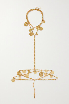 Paco Rabanne Eight Gold-tone Body Chain - one size