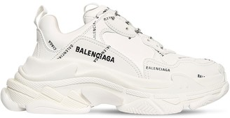 Balenciaga 60mm Triple S Faux Leather Sneakers