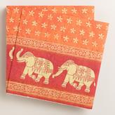 Cost Plus World Market Elephant Lunch Napkins, Set of 16