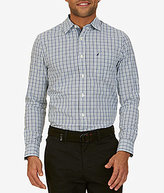 Nautica Plaid Long-Sleeve Woven Shirt