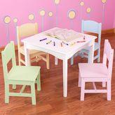 Kid Kraft Nantucket Table and Chair Set - White