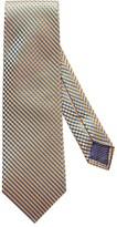 Eton Yellow Geometric Silk Tie