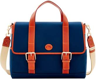 Dooney & Bourke Executive Cabriolet Hunter Messenger