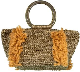 Carolina Santo Domingo Corallina Top Handle Crochet Tote