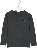 Dolce & Gabbana logo long sleeve T-shirt