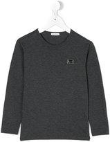 Dolce & Gabbana logo long sleeve T-shirt