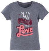 Under Armour Girls 2-6x Play the Game You Love T-Shirt