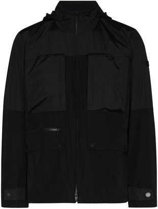 Ermenegildo Zegna Techno zip-up military jacket