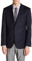 HUGO BOSS Jet Two Button Notch Lapel Wool Jacket