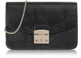 Furla Onyx Metropolis Small Leather Shoulder Bag