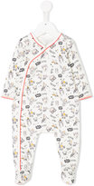 Little Marc Jacobs owl print pyjama