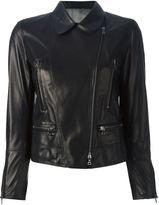 Sylvie Schimmel zip pocket biker jacket