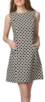 Donna Morgan Women's Print A-Line Dress