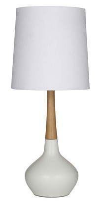 Albi Imports Elke Table Lamp White/natural Pair