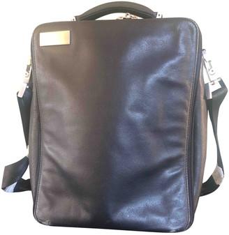 Porsche Design Black Leather Bags