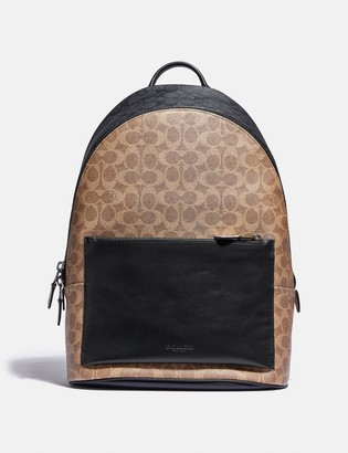 Coach Metropolitan Soft Backpack In Colorblock Signature Canvas